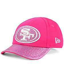 New Era Girls' San Francisco 49ers Shimmer Shine Adjustable Cap