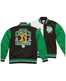 Mitchell & Ness Men's Boston Celtics History Warm Up Jacket