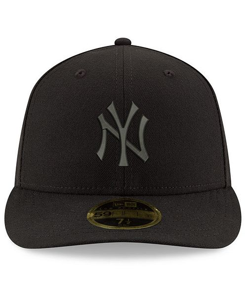 2960e99360e78d ... new era new york yankees triple black low profile 59fifty fitted cap