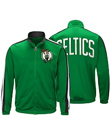 G-III Sports Men's Boston Celtics The Challenger Starter Track Jacket