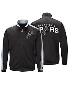 G-III Sports Men's San Antonio Spurs The Challenger Starter Track Jacket
