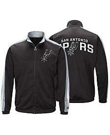 G-III Sports Men's San Antonio Spurs The Challenger Starter Track Jacket