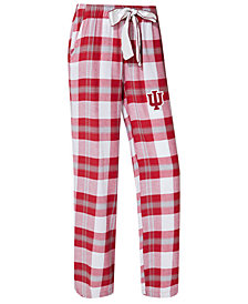 Concepts Sport Women's Indiana Hoosiers Homestretch Flannel Pajama Pants