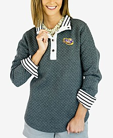 Gameday Couture Women's LSU Tigers Snap Quilted Pullover