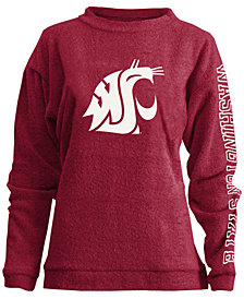 Pressbox Women's Washington State Cougars Comfy Terry Sweatshirt