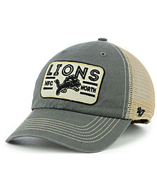 '47 Brand Detroit Lions Sallana Mesh CLEAN UP Cap