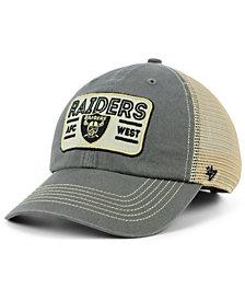 '47 Brand Oakland Raiders Sallana Mesh CLEAN UP Cap