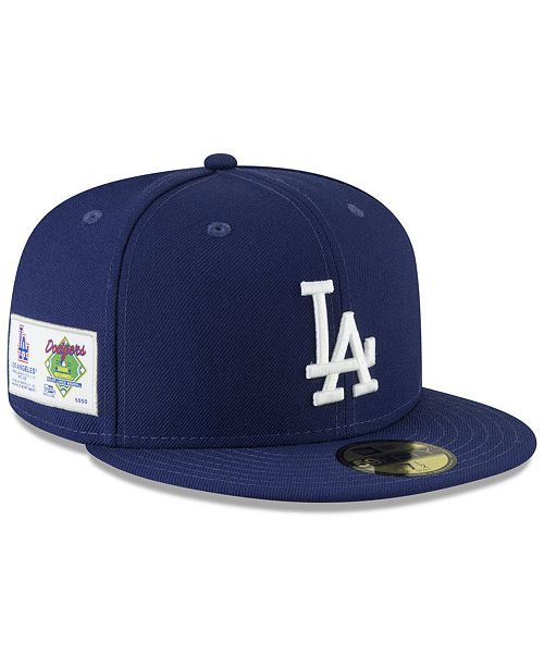 8c489f350b5 New Era. Los Angeles Dodgers Jersey Custom 59FIFTY Fitted Cap. Be the first  to Write a Review.  34.99. Free ship at  75 Details Details. main image ...