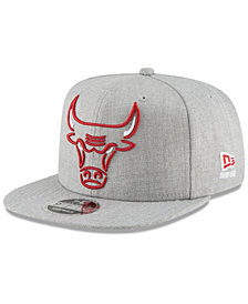 New Era Chicago Bulls Logo Trace 9FIFTY Snapback Cap