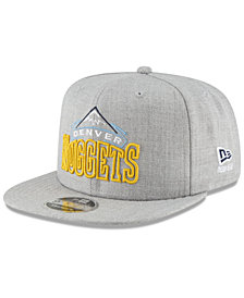 New Era Denver Nuggets Logo Trace 9FIFTY Snapback Cap