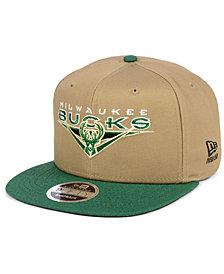 New Era Milwaukee Bucks Jack Knife 9FIFTY Snapback Cap