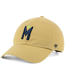 '47 Brand Minnesota Timberwolves Mash Up CLEAN UP Strapback Cap
