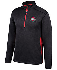 Top of the World Men's Ohio State Buckeyes Next Caliber Quarter-Zip Pullover