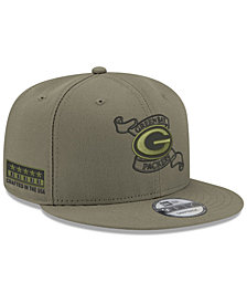 New Era Green Bay Packers Crafted in the USA 9FIFTY Snapback Cap