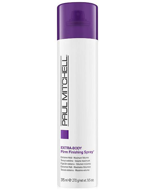 Paul Mitchell Extra-Body Firm Finishing Spray, 9.5-oz., from PUREBEAUTY Salon & Spa