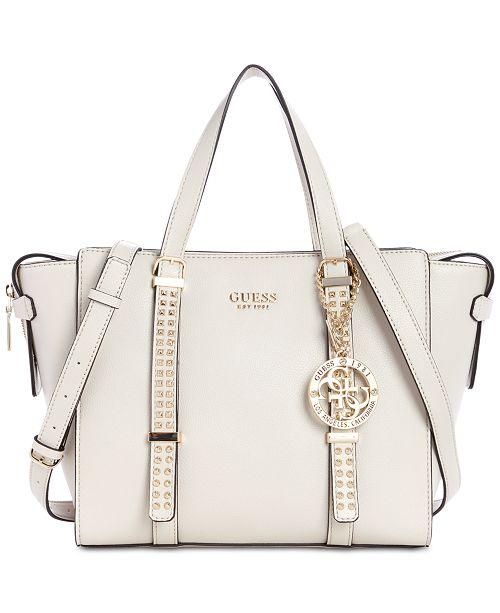 8cb2d0f477 GUESS Eileen Satchel   Reviews - Handbags   Accessories - Macy s