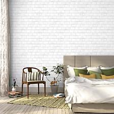 Tempaper Textured Brick Self-Adhesive Wallpaper