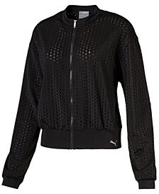 Puma Luxe Mesh Jacket