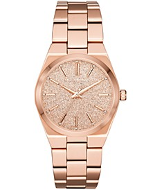 Women's Channing Rose Gold-Tone Stainless Steel Bracelet Watch 36mm