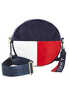 Tommy Hilfiger Isa Circle Velvet Crossbody