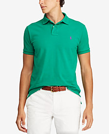 Polo Ralph Lauren Men's Custom Slim-Fit Mesh Polo Shirt