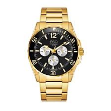 Men's ESQ0243 Gold-Tone Multi-Function Stainless Steel Bracelet Watch