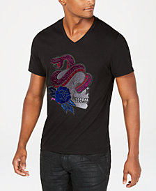 I.N.C. Men's V-Neck Graphic T-Shirt, Created for Macy's