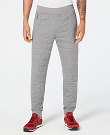 A|X Armani Exchange Men's Quilted Jogger Pants