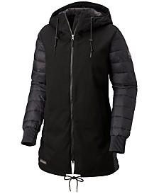 Columbia Boundry Bay Hooded Waterproof Hybrid Jacket