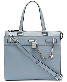 Calvin Klein Roxy Leather Tote
