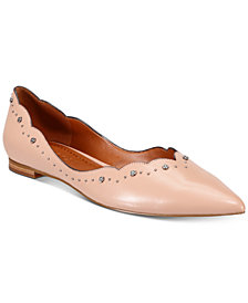 COACH Vivian Pointed-Toe Flats