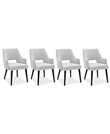 Aspen Dining 4-Pc. Set (4 Host Chairs), Created for Macy's