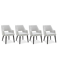 Aspen Dining Furniture, 4-Pc. Set (4 Host Chairs), Created for Macy's