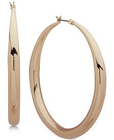 Anne Klein Tapered Medium Hoop Earrings