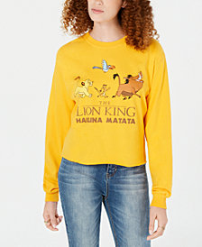 Mighty Fine Juniors' Cotton Hakuna Matata Graphic-Print T-Shirt