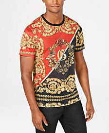 GUESS Mens Regal Print Graphic T-Shirt