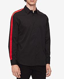 Calvin Klein Men's Contrast Stripe Shirt