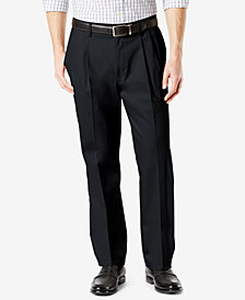 New Dockers Men's Signature 2.0 Classic-Fit Performance Stretch Pleated Pants