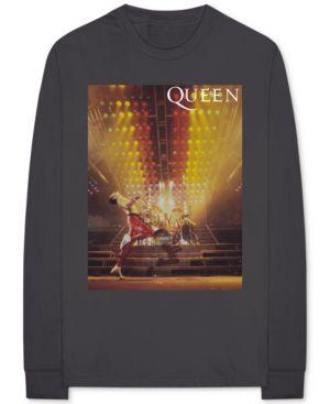 BRAVADO Queen Men'S Graphic T-Shirt in Gray