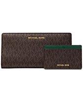 MICHAEL Michael Kors Signature 2-in-1 Card Case Carryall 13863db986