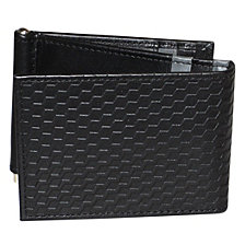 Bellamy RFID Z-Fold Wallet with Money Clip