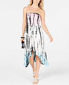 Tie-Dyed Dress Cover-Up