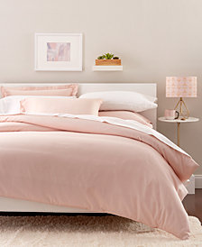 Goodful™ Solid Duvet Sets, 300 Thread Count Hygro Cotton, Created for Macy's