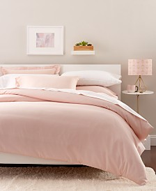 CLOSEOUT! Goodful™ Solid Duvet Sets, 300 Thread Count Hygro Cotton, Created for Macy's