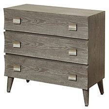 Somellie 3-Drawer Chest, Quick Ship