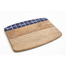 Gibson Mozambique Cutting Board with Cheese Knife
