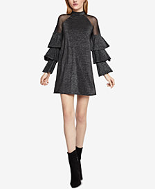 BCBGeneration Tiered-Sleeve A-Line Dress