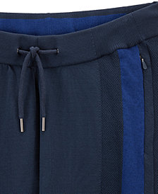 BOSS Men's Reflective-Detail Jogger Pants