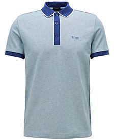 BOSS Men's Regular/Classic-Fit Piqué Cotton Polo