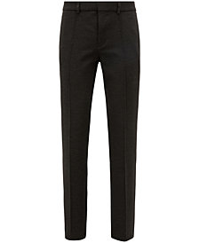 BOSS Men's Tapered-Fit Stretch Trousers
